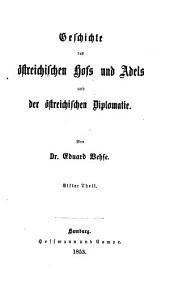 Geschichte der deutschen Höfe seit der Reformation: Band 47