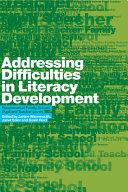 Addressing Difficulties in Literacy Development