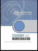 Citizenship and Higher Education PDF