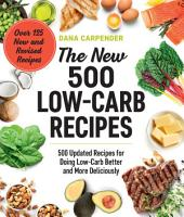 The New 500 Low Carb Recipes PDF