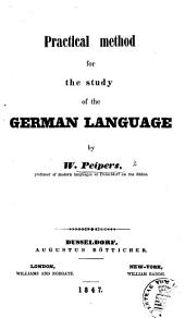 Practical method for the study of the German Language