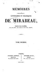 Mémoires biographiques: Volumes1à3