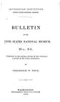 Bulletin   United States National Museum PDF