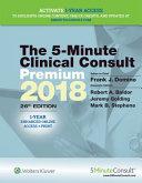 The 5 Minute Clin Consult Premium 2018 PDF