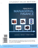 Principles Of Managerial Finance Student Value Edition Book PDF