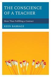 The Conscience Of A Teacher Book PDF