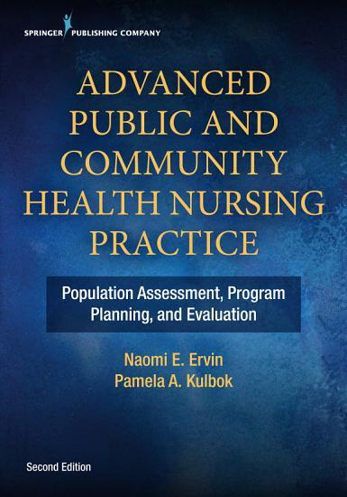 Advanced Public and Community Health Nursing Practice 2e PDF