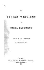 The Lesser Writings of S. H. Collected and Translated by R. E. Dudgeon