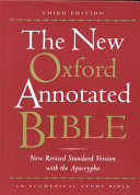 The New Oxford Annotated Bible with the Apocryphal Deuterocanonical Books
