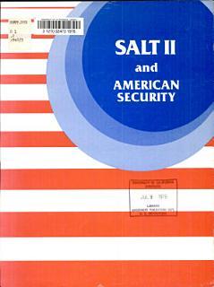 SALT II and American security Book