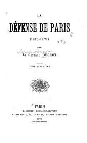 La défense de Paris (1870-1871)