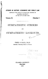 Sympathetic Strikes and Sympathetic Lockouts: Issues 26-28