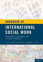 Handbook of International Social Work PDF