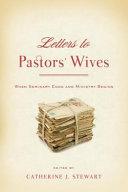 Letters to Pastors  Wives PDF