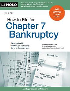 How to File for Chapter 7 Bankruptcy PDF