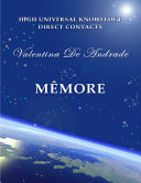 MÊMORE - A forthcoming book's sample,