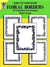 Easy to Duplicate Floral Borders PDF