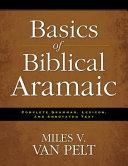 Basics of Biblical Aramaic Book