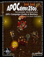 APOCalypse 2500 GM  s Campaign Guide   Bestiary PDF