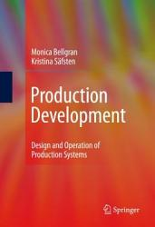Production Development Book PDF