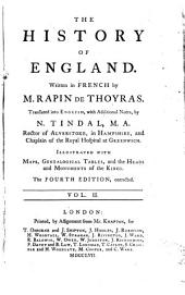 The history of England: Volume 2