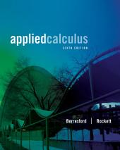 Applied Calculus: Edition 6