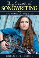 Big Secret of Songwriting