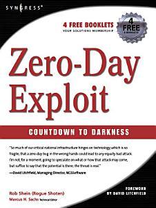 Zero Day Exploit  Book
