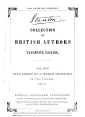 Paul Patoff: Volume 2