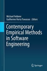 Contemporary Empirical Methods in Software Engineering PDF