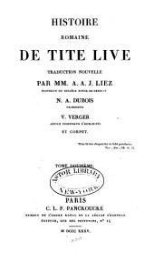 Histoire romaine de Tite Live: Volume12