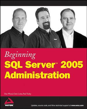 Beginning SQL Server 2005 Administration PDF
