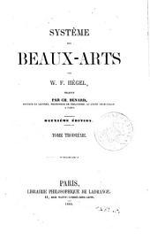 Système des beaux-arts, 3: Volume1