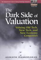 The Dark Side of Valuation PDF