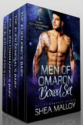 Men of Omaron Boxed Set: Sci-fi Alien Romance