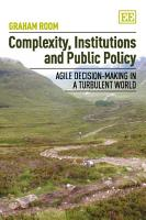 Complexity  Institutions and Public Policy PDF