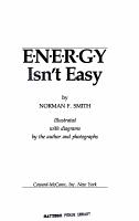 Energy Isn t Easy PDF