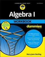 Algebra I Workbook For Dummies PDF