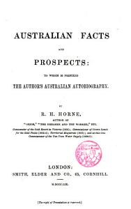 Australian facts and prospects PDF
