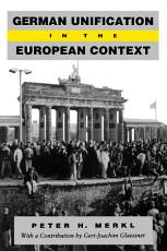 German Unification in the European Context PDF