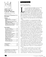 Fellowship of Catholic Scholars Quarterly PDF