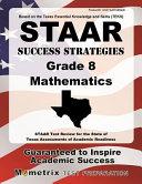 STAAR Success Strategies Grade 8 Mathematics Study Guide