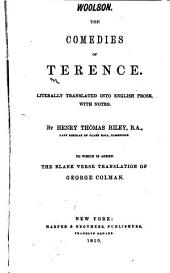 Comedies of Terence