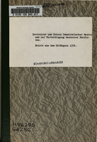 Brief aus dem Gef  ngnis 1954 PDF