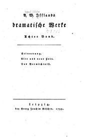 A. W. Ifflands dramatische werke: Band 8