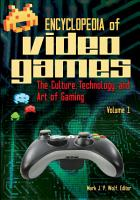 Encyclopedia of Video Games  A L PDF