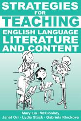 Strategies For Teaching English Language Literature And Content Book PDF