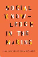Social Knowledge in the Making PDF