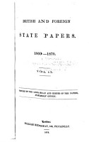 British and Foreign State Papers PDF