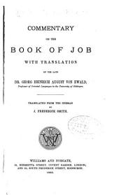 Commentary on the Book of Job...